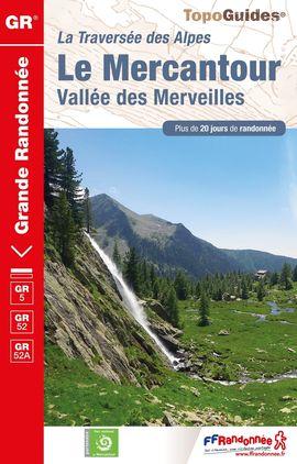 GR 5 LA MERCANTOUR [REF.507] -FFRP
