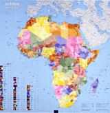 AFRIQUE POLITIQUE [MURAL PLASTIFICAT] 1:12.000.000 -IGN