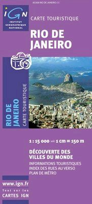 RIO DE JANEIRO 1:15.000 -IGN DECOUVERTE DES VILLES DU MONDE
