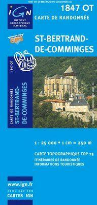 1847 OT ST. BERTRAND DE COMMINGES 1:25.000 -TOP 25 IGN