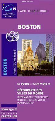 BOSTON 1:15.000 -IGN DECOUVERTE DES VILLES DU MONDE