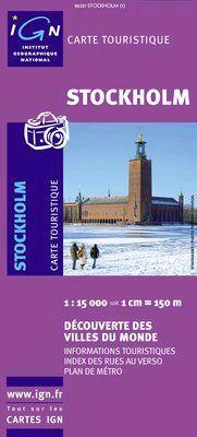 STOCKHOLM 1:15.000 -IGN DECOUVERTE DES VILLES DU MONDE