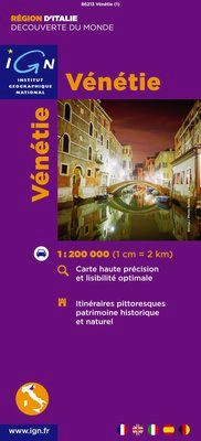 VENETIE 1:200.000 -IGN DECOUVERTE DES REGIONS DU MONDE