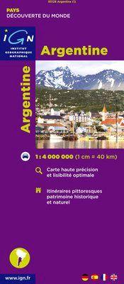 ARGENTINE 1.4.000.000 -IGN DECOUVERTE DES PAYS DU MONDE