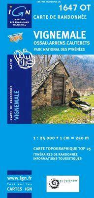 1647 OT VIGNEMALE 1:25.000 -TOP 25 IGN