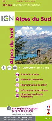 ALPES DU SUD 1:200.000 -TOP 200 IGN