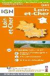 D41 LOIR-ET-CHER 1:200.000 -DEPARTEMENTALE IGN
