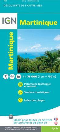 MARTINIQUE 1:75.000 -DÉCOUVERTE DE L'OUTRE-MER -IGN
