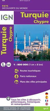 TURQUIE 1:800.000 -IGN DECOUVERTE DU MONDE