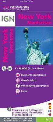 NEW YORK MANHATTAN 1:15.000 -IGN
