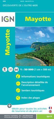 MAYOTTE 1:50.000 -OUTRE MER IGN