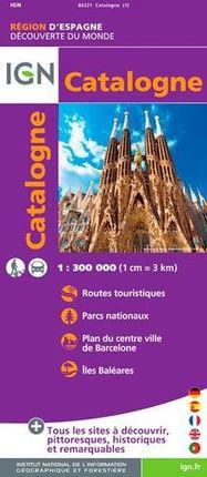 CATALOGNE 1:300.000 -DÉCOUVERTE DES RÉGIONS DU MONDE -IGN