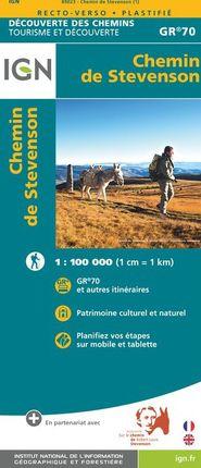 CHEMIN DE STEVENSON 1:100.000 (GR 70) -DÉCOUVERTE DES CHEMINS -IGN