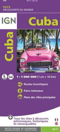 CUBA 1:1.000.000 -DÉCOUVERTE DES PAYS DU MONDE -IGN
