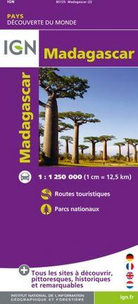 MADAGASCAR 1:1.250.000 -DÉCOUVERTE DES PAYS DU MONDE -IGN