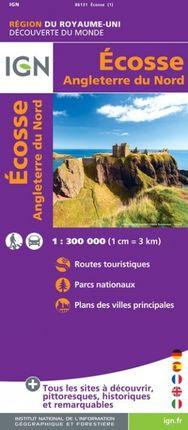 ÉCOSSE 1:300.000 -DÉCOUVERTES DES RÉGIONS DU MONDE -IGN