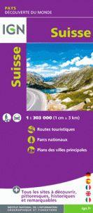 SUISSE 1:303.000 -DÉCOUVERTE DES PAYS DU MONDE -IGN