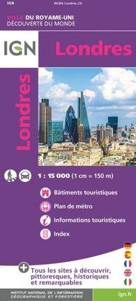 LONDRES 1:15.000 -DÉCOUVERTE DES VILLES DU MONDE -IGN