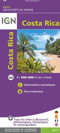 COSTA RICA 1:500.000 -DÉCOUVERTE DES PAYS DU MONDE -IGN