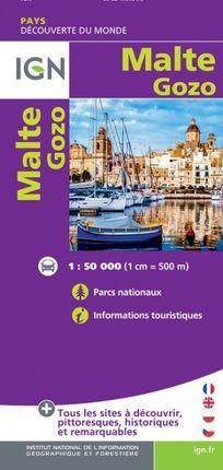 MALTE / GOZO 1:50.000 -DÉCOUVERTES DES PAYS DU MONDE -IGN