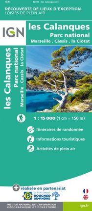 LES CALANQUES 1:15.000 -LOISIRS DE PLEIN AIR -IGN