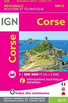 CORSE [MINI] 1:200.000 -ROUTIER FRANCE RÉGIONALE -IGN