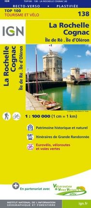 138 LA ROCHELLE 1:100.000 -TOP 100 -IGN