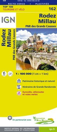 162 RODEZ 1:100.000 -TOP 100 -IGN