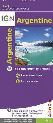 ARGENTINE 1:4.000.000 -DÉCOUVERTE DES PAYS DU MONDE -IGN