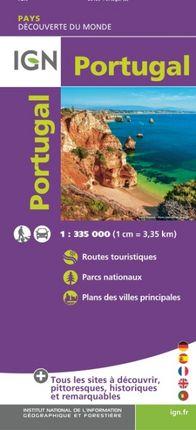 PORTUGAL 1:335.000 -DÉCOUVERTE DES PAYS DU MONDE -IGN