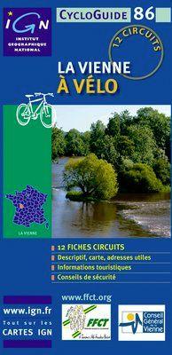 VIENNE A VELO, LA -CYCLOGUIDE 86 [FICHAS] -IGN