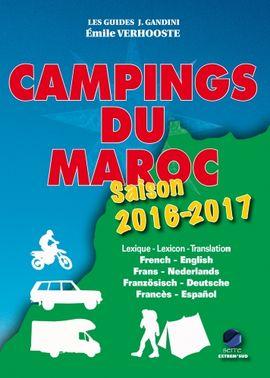 CAMPINGS DU MAROC. SAISON 2016-2017