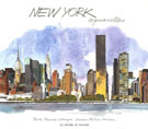 NEW YORK AQUARELLES