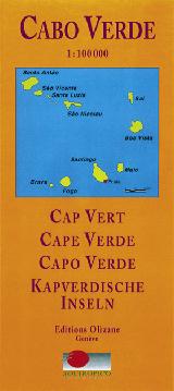 CABO VERDE 1:100.000 -OLIZANE