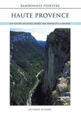 HAUTE PROVENCE RANDONNEE PEDESTRE -OLIZANE