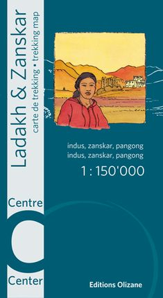 LADAKH & ZANSKAR CENTRE 1:150.000 -OLIZANE