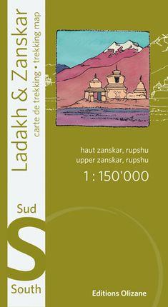 LADAKH & ZANSKAR SUD 1:150.000 -OLIZANE CARTES