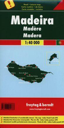 MADEIRA 1:40.000 -FREYTAG & BERNDT