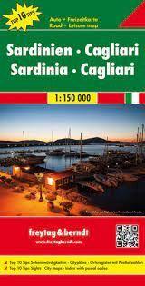 SARDINIEN-SARDINIA  1:150.000 -FREYTAG & BERNDT