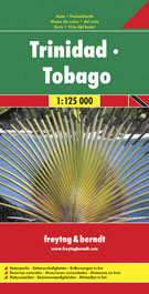 TRINIDAD - TOBAGO 1:125.000 -FREYTAG & BERNDT