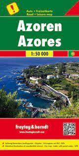 AZOREN (AZORES) 1:50.000 -FREYTAG & BERNDT