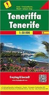 TENERIFFA -TENERIFE 1:50.000 -FREYTAG & BERNDT