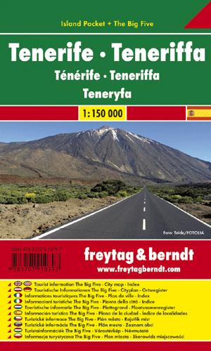 TENERIFE - TENERIFFA 1:150.000 -ISLAND POCKET -FREYTAG & BERNDT
