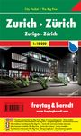 ZURICH 1:10.000 -CITY POCKET -FREYTAG & BERNDT