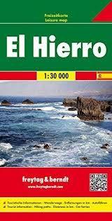 EL HIERRO 1:30 000 -FREYTAG & BERNDT