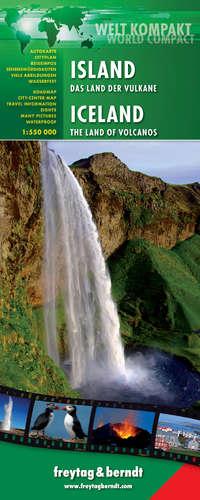 ISLAND - ICELAND 1:550.000 WELT KOMPAKT -FREYTAG & BERNDT (WATERPROOF)