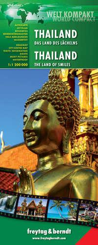 THAILAND 1:1.200.000 WELT KOMPAKT -FREYTAG & BERNDT (WATERPROOF)