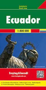 ECUADOR - GALAPAGOS 1:800.000 -FREYTAG & BERNDT
