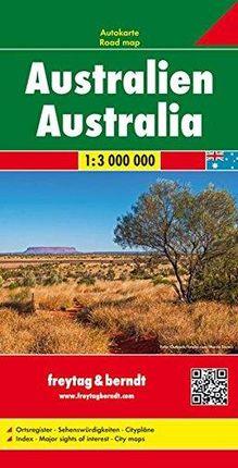 AUSTRALIA 1:3.000.000- FREYTAG & BERNDT