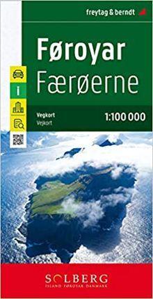 FOROYAR - FAROE ISLANDS 1:100.000 -FREYTAG & BERNDT